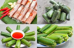 Nem chua, nem chạo thị trấn Quảng Yên Quảng Ninh