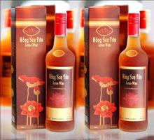 Rượu sen (hồng sen tửu) Đồng Tháp