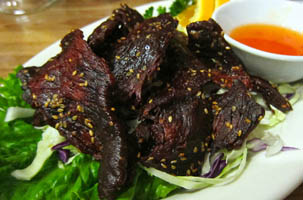 Sien Savanh Lào (bò khô)