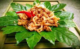 Thịt chua chịn xồm Nghệ An