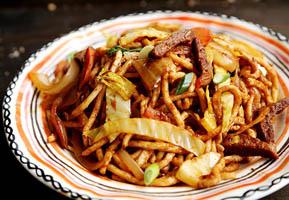 Thịt cừu xào Brunei