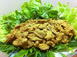 Thịt lợn đen và thịt lợn muối chua Tuyên Quang