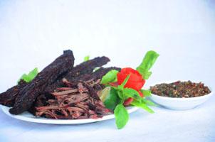 Thịt trâu khô Tuyên Quang