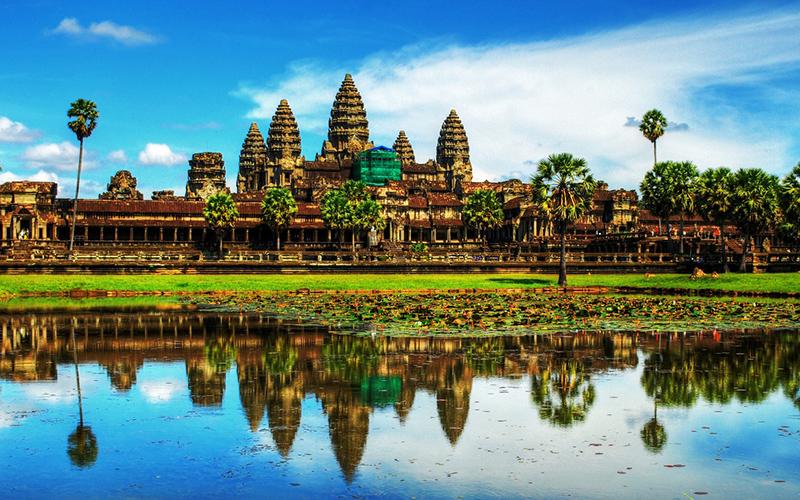 Angkor, Campuchia