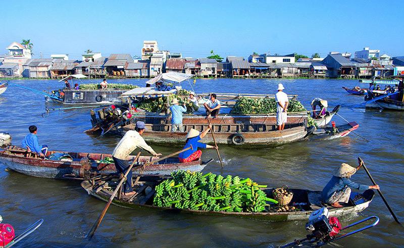 Chợ nổi Cái Răng - Việt Nam