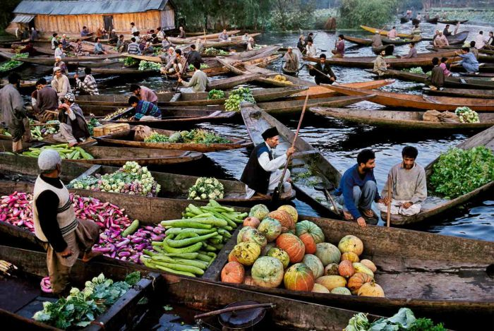 Chợ nổi Inle Lake - Myanmar