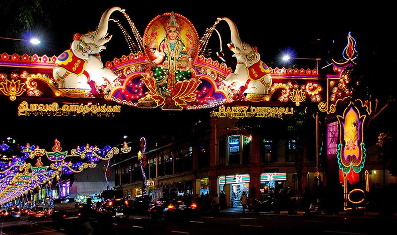 Lễ hội ánh sáng Deepavali, Malaysia