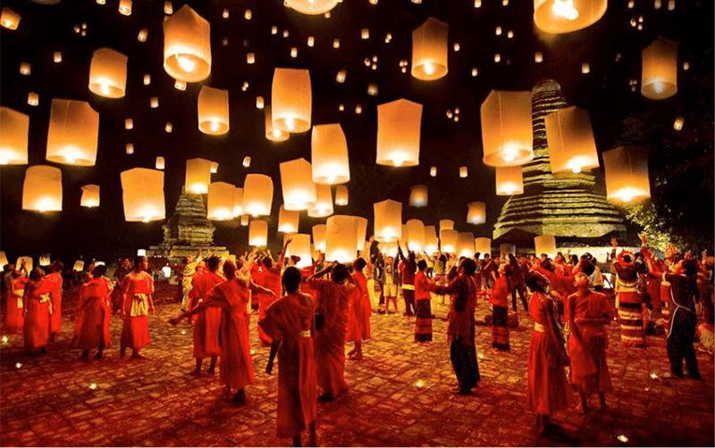 Lễ hội Loy Krathong, Thái Lan
