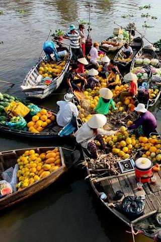 Những chợ nổi độc đáo nhất ở các nước Đông Nam Á