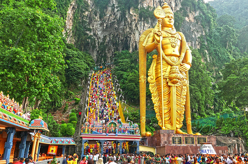 Lễ hội Thaipusam, Malaysia