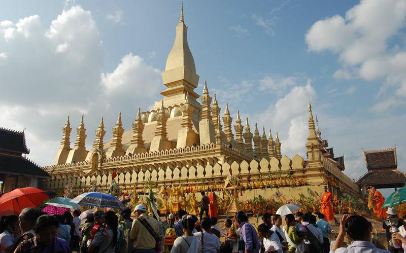Lễ hội That Luang, Lào