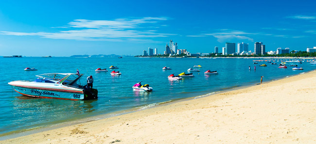 Bãi biển Pattaya Beach