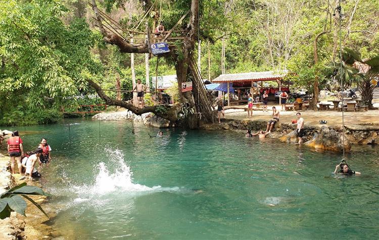 Blue Lagoon Vang Vieng