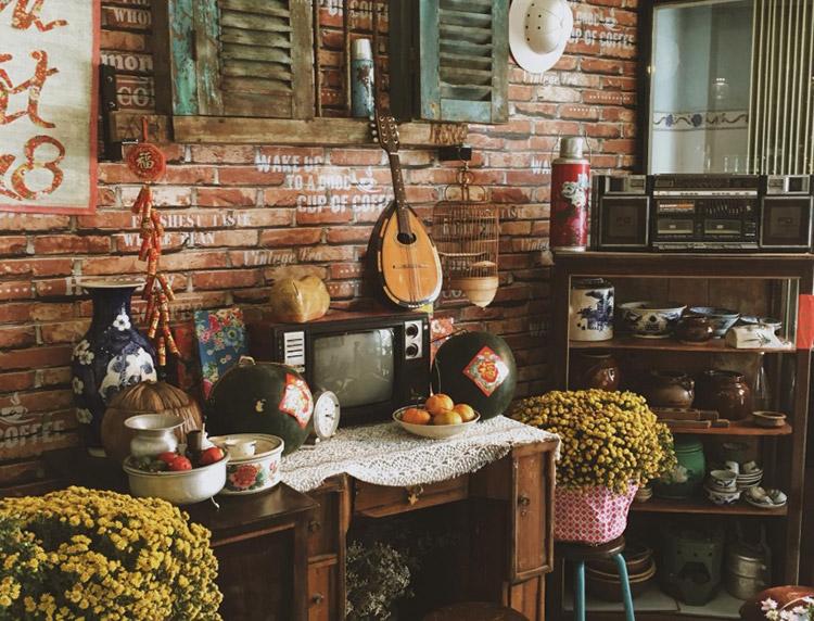 Cafe Đời đá vàng Vĩnh Long