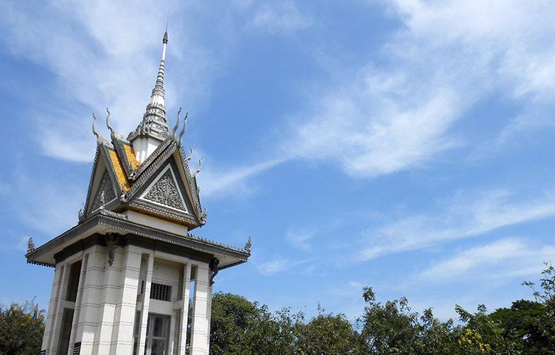 Cánh đồng chết – Choeng Ek Memorial (The killing fields) Campuchia