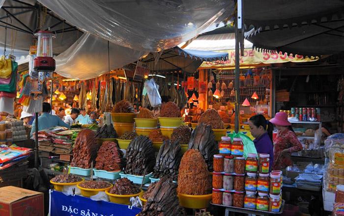Chợ đêm Hà Tiên Kiên Giang