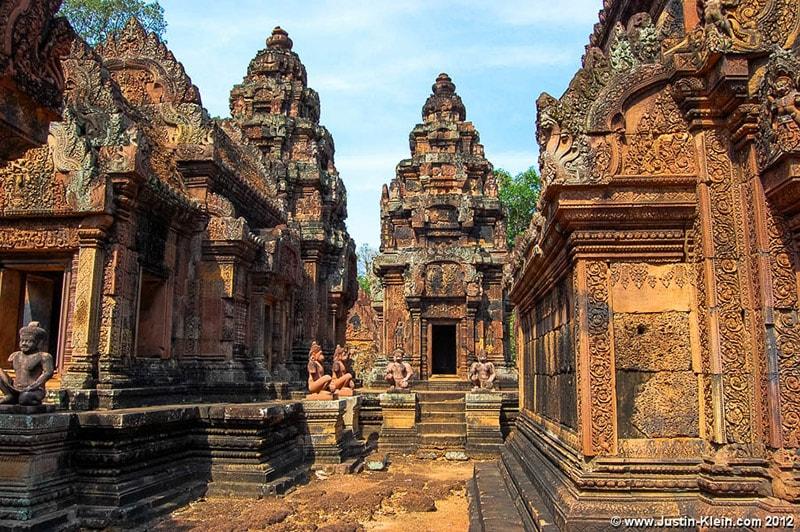 Đền Banteay Srei Siem Reap