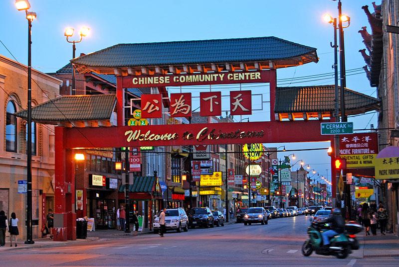 Khu China Town và Tiểu Ấn