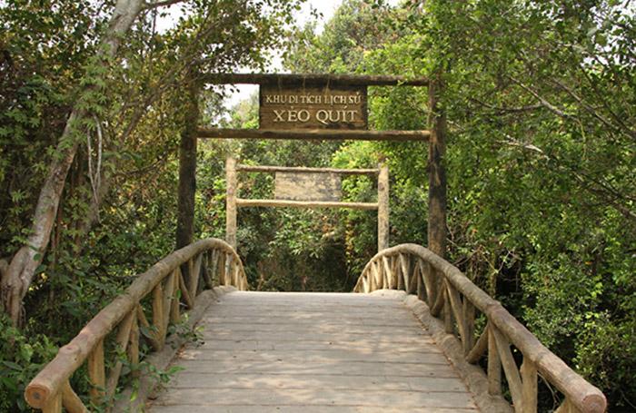 Khu di tích Xẻo Quýt Đồng Tháp