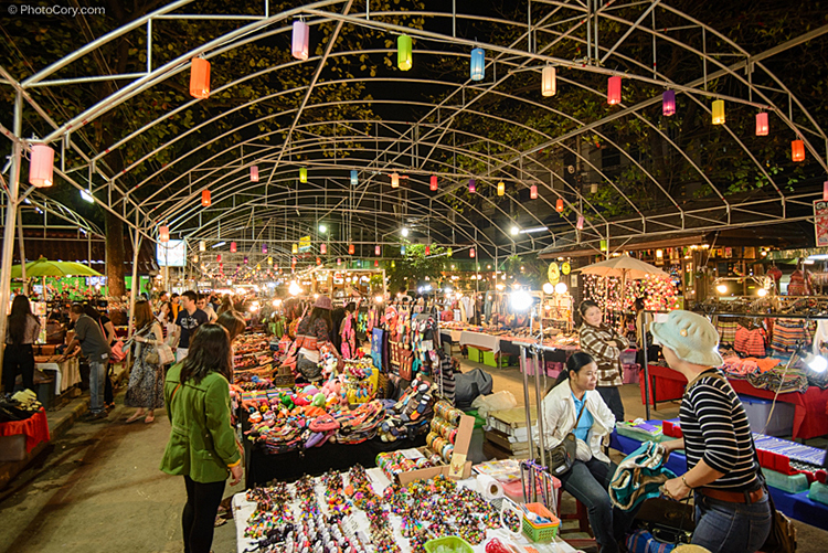 Night Market Bazaar Chiang Mai