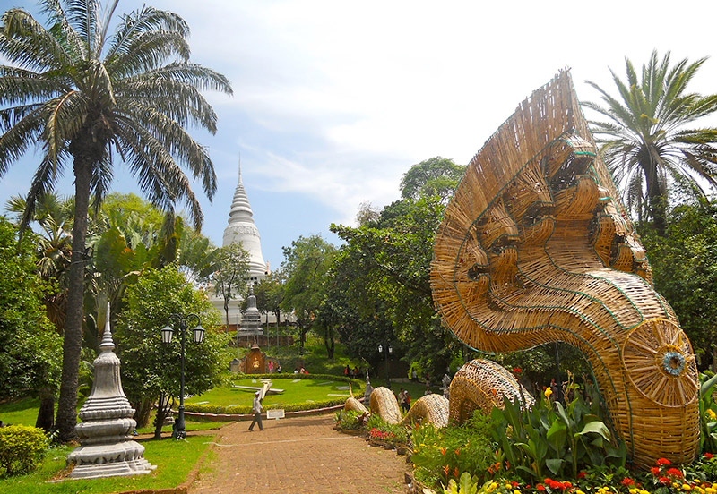Watt Phnom Campuchia
