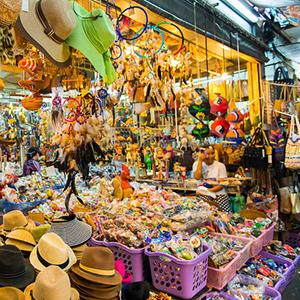 Chợ cuối tuần Chatuchak Bangkok
