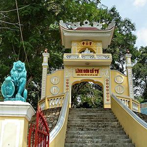Chùa Linh Sơn Ba Thê