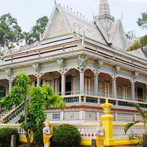 Chùa Sà Lôn (chùa Chén Kiểu) Sóc Trăng