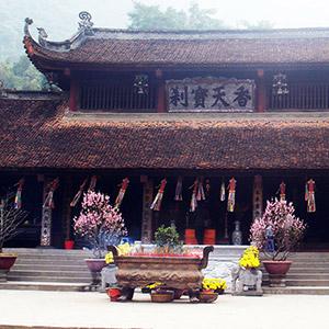 Chùa Trình/ đền Trình Yên Tử