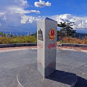 Cột mốc biên giới Việt Nam - Lào - Campuchia