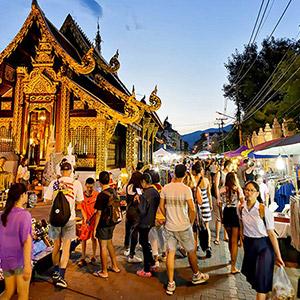 Khu phố đi bộ Wua Lai