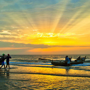 Ngắm mặt trời Côn Đảo