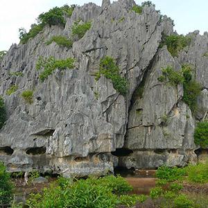 Núi Đá Dựng Kiên Giang