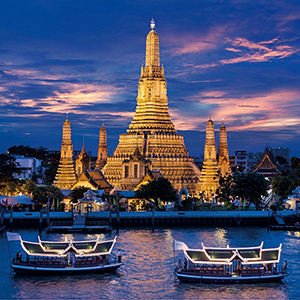 Sông Chao Pharaya Bangkok