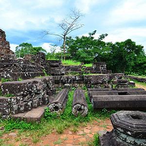 Thánh địa Mỹ Sơn - Di sản văn hoá thế giới