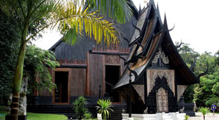 Baandam Museum - Black Temple (Chùa đen)