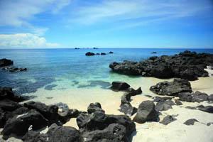 Bãi biển Đá Đen