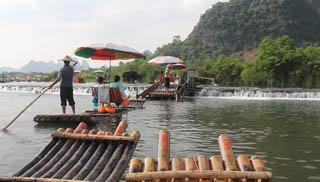 Bambo Rafting Kanchanaburi