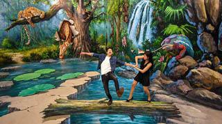 Bảo tàng tranh nghệ thuật 3D - Art in Paradise