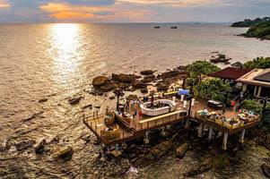 Cafe Rock Island Club Nam Nghi Resort Phú Quốc