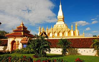 Chùa Pha That Luang (Đại Bảo Tháp)