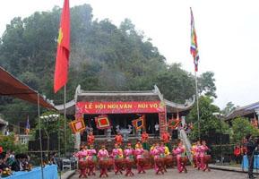 Di tích văn hoá lịch sử Núi Văn - Núi Võ Thái Nguyên