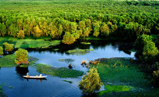 Khu Du lịch sinh thái Đồng Tháp Mười ở Long An