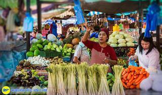 Khu chợ trời Tamu Kianggeh