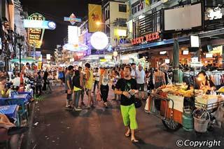 Phố Khao San Bangkok