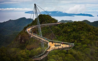 Skybrigde và Cable Car Langkawi