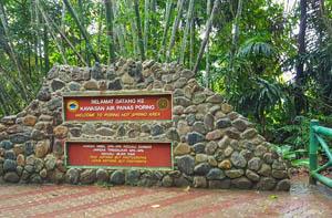 Suối nước nóng Kinabalu Park