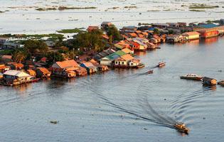 Tonlé Sap Biển hồ Siem Reap