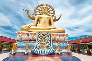 Wat Phra Yai (Big Budha)